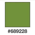 Dagens färg, 689288, en smutsgrön nyans.