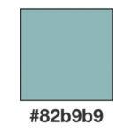 Dagens nyans, Bianchigrönt, 82b9b9.