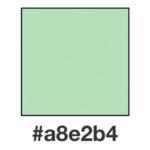 Dagens ljusgröna, a8e2b4.