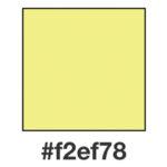 Dagens ljust gula, f2ef78.