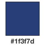 Dagens mörkblå, 1f3f7d.