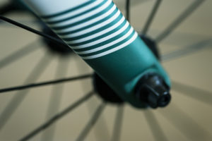 Min cykelcross är väldigt grön.