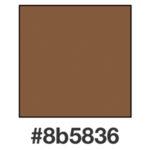 Dagens mandelbruna, 8b5836.