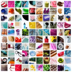 Här är alla de 100 bilderna jag tagit under projektet.