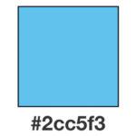 Dagens ljust himmelsblå, 2cc5f3.